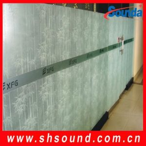 Laminated Printing Self Adhesive Window Film (SWF215) pictures & photos