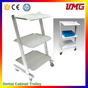Dentist Tools Dental Office Cabinets with Trolley Wheel pictures & photos
