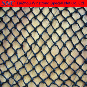 72ply 93ply 38mm Black Nylon Fishing Net