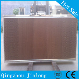 Jinlong Brand Evaporative Cooling Pad with Stainless Steel Frame pictures & photos