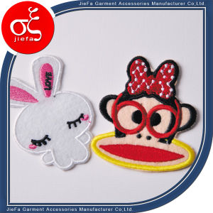 Custom Stick-on Logo Embroidery Patches and Embroidery Badge pictures & photos