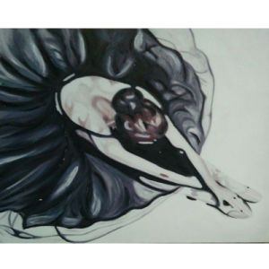 Beautiful Ballet Dancer Painting for Home Decor (LH-096000) pictures & photos