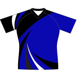 Custom Design Sublimation Rugby Shirt with Your Logo pictures & photos