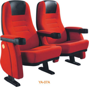 Modern Design Metal Folding Cushioned Theater Chair (YA-07A) pictures & photos