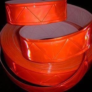 W Pattern Orange Reflective Tape for Clothes and Vest Garments pictures & photos