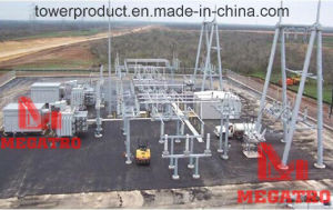 500kv Dead End a-Frame Substation Structure (MGP-500AF) pictures & photos