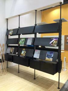 Uispair Decorative Space Partititon Newspaper Magazine Rack Book Rack Bookcase