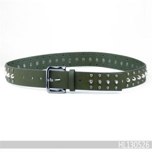 Leather Fashion Belt with Stud