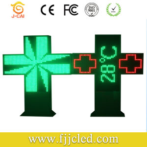 Outdoor Advertising P16 LED Display LED Pharmacy Cross pictures & photos