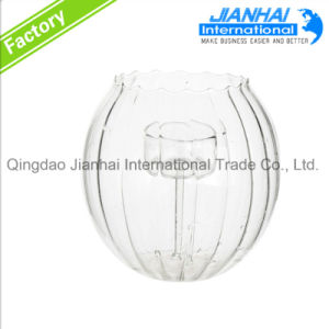 Round Sphere Clear Candle Holder, Wholesale Glass Candle Holder pictures & photos
