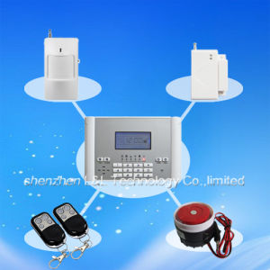 Wireless 99+Wired 4 GSM Security Home Alarm System with LCD Screen (L&L-819B)