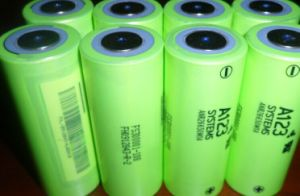 A123 LiFePO4 26650 Battery Cell 3.2V 2300mAh Anr26650m1a pictures & photos