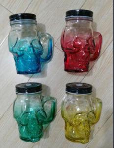 Mason Jar/ Glass Mason Jar/ Handle Jar pictures & photos