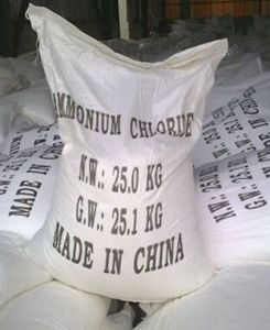 99.5%Min Ammonium Chloride Structure Nh4cl pictures & photos