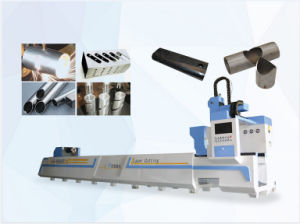 Metal Pipes Semi Sutomatic Fiber Laser Cutting Machine pictures & photos