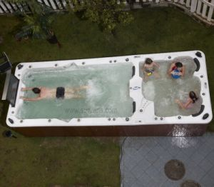 China Fashionable Balboa System Swimming Pool Spa With Best After Sale Service For Swim Spa
