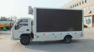 Professional Supply Isuzu Mobile LED Displayadvertisement Truck with Lifting Screen pictures & photos