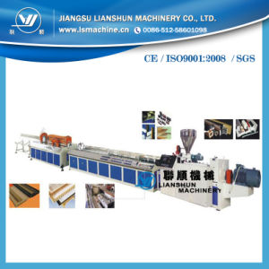 PVC/ PE/ PP Wood Plastic Production Line (SJSZ) pictures & photos