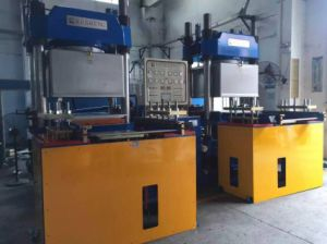 500ton Large Plate Rubber Machine for Rubber Silicone Products (KS500VF) pictures & photos