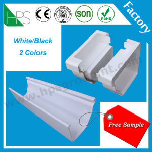 PVC Water Gutter Rain Water Collector Plastic Gutter Building Material pictures & photos