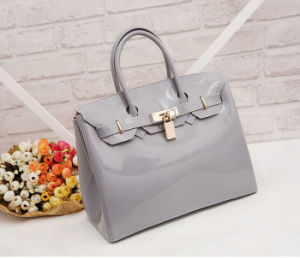 Candy Color Silicone Jelly Bag Italy Designer Rubber Silicone Tote Bag pictures & photos