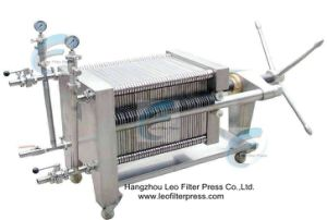 Stainless Steel Plate and Frame Filter Press pictures & photos