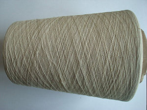 Linen Cotton Blenched Yarn -30s Raw White pictures & photos