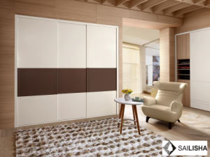 Modern French Home Bedroom Hotel Furniture Wood Closets Wardrobe pictures & photos
