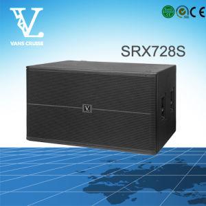 Srx728s Double 18inch Passive Subwoofer Bass Speaker pictures & photos