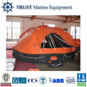 Ec Approved 15p Throw Overboard Inflatable Life Raft pictures & photos