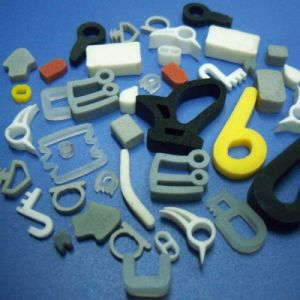 OEM NBR EPDM Silicone Extrusion Rubber Part pictures & photos