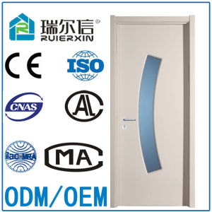 High Quality Frosted Glass PVC Door