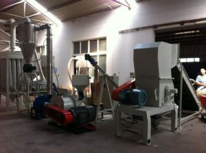 PVC Plastic Sheet, Chips Recycling Line pictures & photos