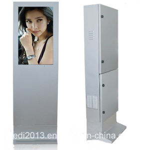 32 Inch Standing LCD Advertising Machine Outdoor with Sunlight Readable LCD Monitor pictures & photos