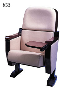 Elegant Auditorium Chair with Writing Board Theater Seat Chair (MS3) pictures & photos