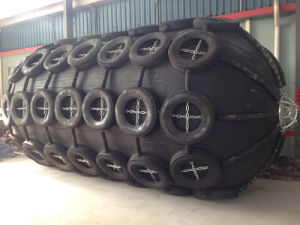 Yokohama Rubber Fender with Tyres&Chains pictures & photos