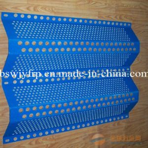 Perforated FRP GRP Screen Mesh for Wind and Dust pictures & photos