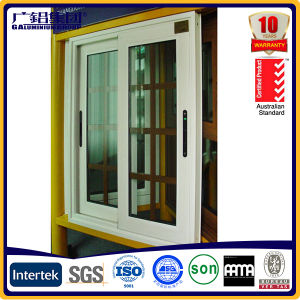 White Aluminium Frame Glass Window pictures & photos