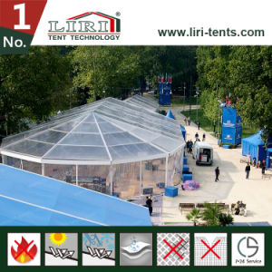 Customized Mix Multi-Sides Tent with Glass Walls pictures & photos