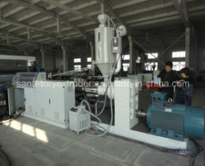 High Quality Plastic PVC Free Foamed Board Extrusion Production Line pictures & photos
