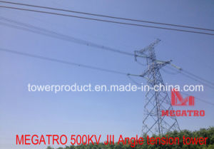 Megatro 500kv Transmission Line Jii GaN Type Angle Tension Tower pictures & photos