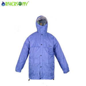 Nylon PVC Rain Jacket pictures & photos