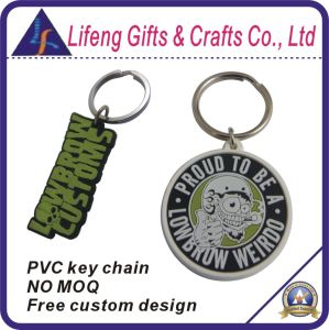Custom PVC Key Chain No Minimum Order