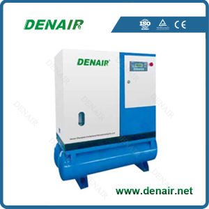 10HP/7.5kw Direct Driven Screw Air Compressor with Air Tank pictures & photos