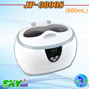 600ml Capacity Home Used Jewellries Necklaces Earings Sonicator Bath Mini Ultrasonic Cleaner (JP-3800S) pictures & photos