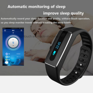 Bluetooth Smart Bracelet with Heart Rate Monitor (HB02) pictures & photos