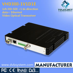 1CH HD-Sdi +1 Bi-Direction Data+ Ethernet Optical Transceiver (VHD300-1V1D1E)