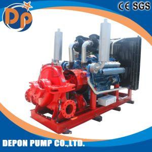 Industrial Diesel and Electric Double Suction Centrifugal Water Dredge Pump pictures & photos