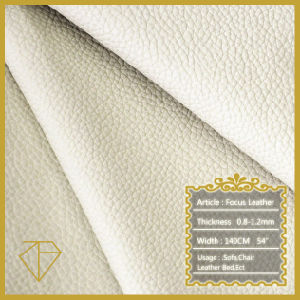 0.8-1.2mm Embossed PU Leather for Sofa, Chair, Bed