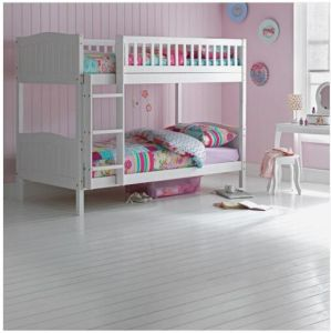 Children Wooden Bunk Bed White 3FT pictures & photos